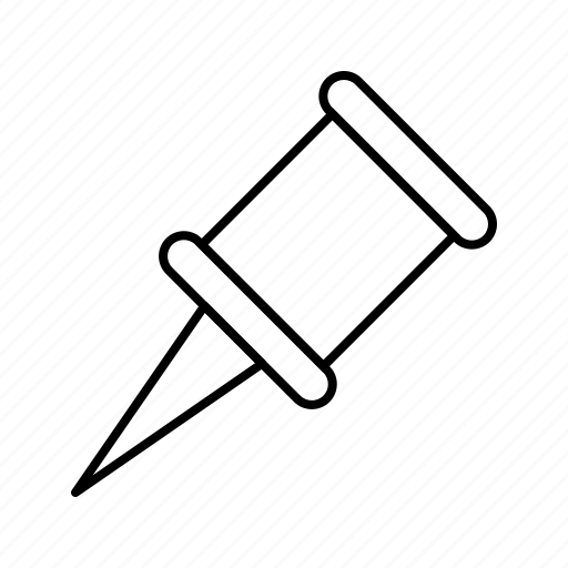 location, pin, pointer icon