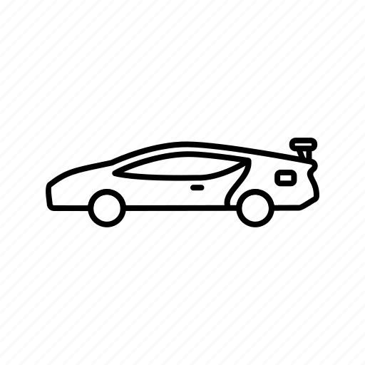 Car, sports car, transportation, vehicle icon - Download on Iconfinder