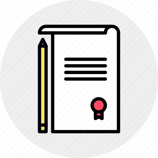 agreement, contract, data, deal, document, paper, treaty icon