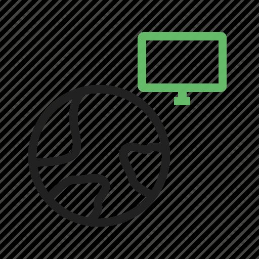 Data, global, globe, internet, map, technology, world icon - Download on Iconfinder