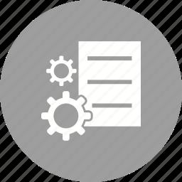 business, data, information, internet, management, technology icon