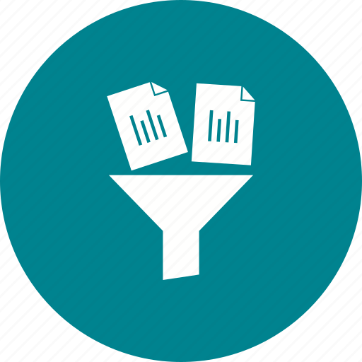 archive, copy, documents, filter, notepad, organizer, user icon