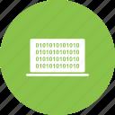 binary, code, computer, data, digital, number, screen