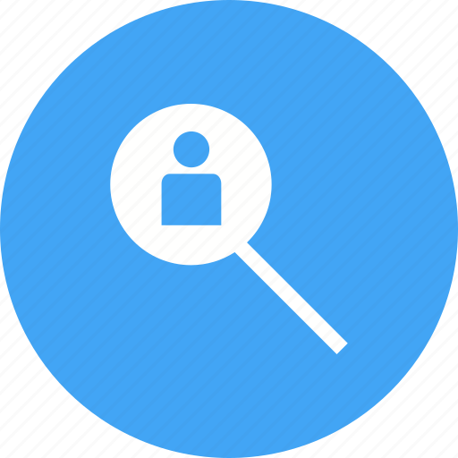 business, hiring, job, people, professional, search, staff icon