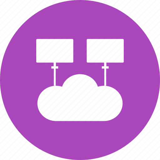 businessman, cloud, computing, information, network, support icon