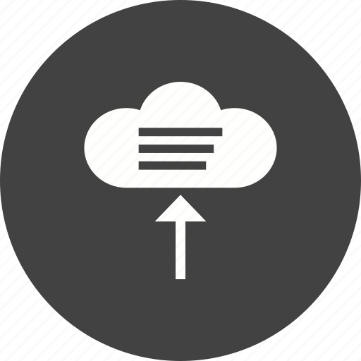 cloud, computing, connection, data, mobile, security icon