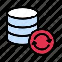 backup, data, reload, server, storage