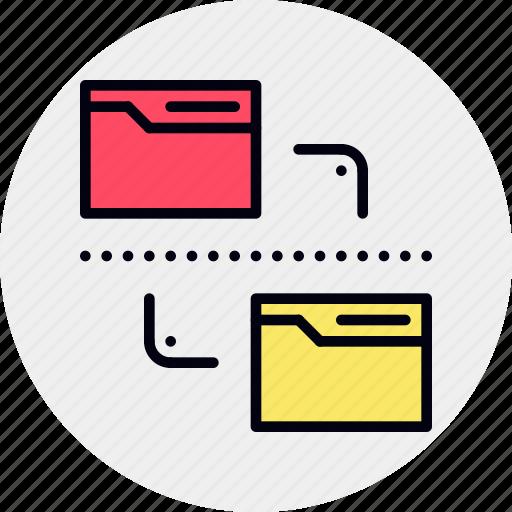 Data, documents, file, folder, management icon - Download on Iconfinder