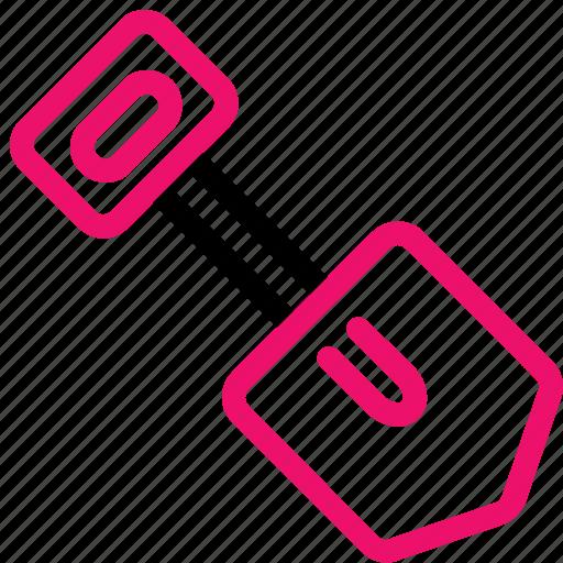 analysis, data, information, mining, pick, shovel icon