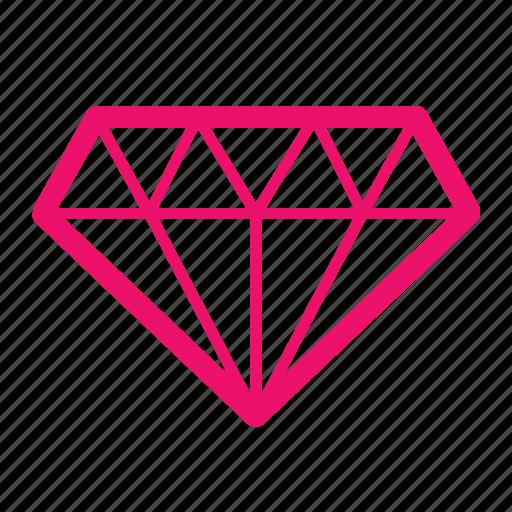 analysis, data, diamond, information, knowledge, mining icon