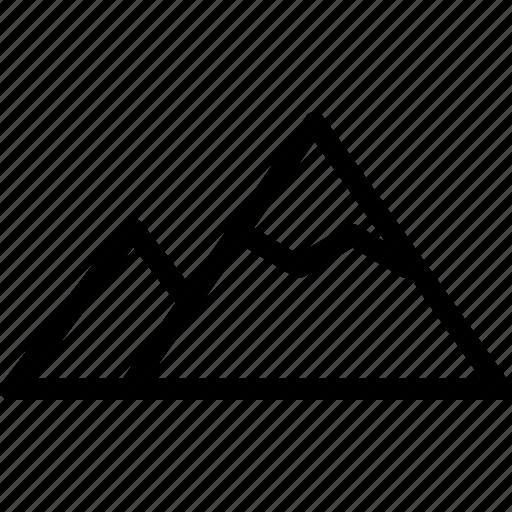 analysis, data, information, mining, mountain, selection icon