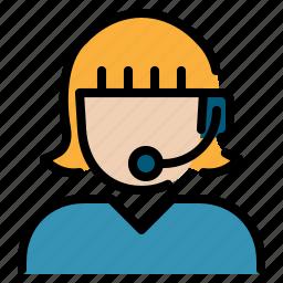 call, center, communication, phone, service icon