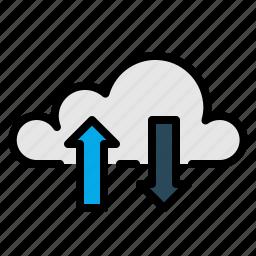 computing, data, links icon