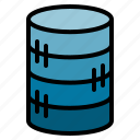 data, database, server, store icon