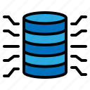 data, database, file, storage icon