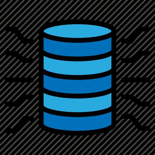 data, database, file, storage icon