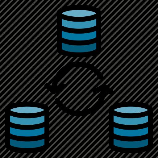 Data, file, refresh, sync, synchronization icon - Download on Iconfinder