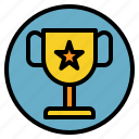 done, goal, success, trophy icon