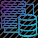 computer, data, mainframe, best, server icon