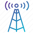 communication, connection, internet, mobile, network icon