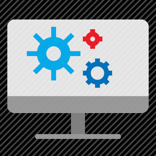 computer, desktop, personal, workstation icon