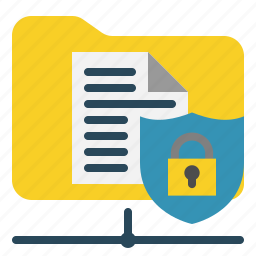 data, network, protection, security icon