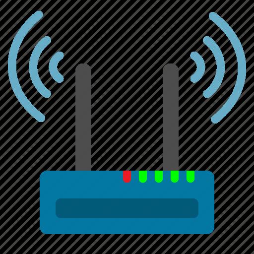 Internet, modem, wifi icon - Download on Iconfinder