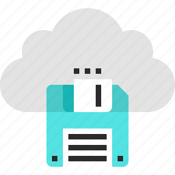 cloud, computing, data, guardar, internet, network, save, storage icon