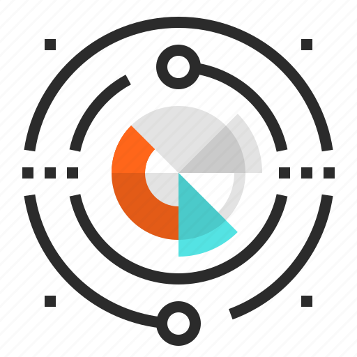 big, business, chart, data, graph, network, statistics icon