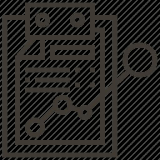 chart, document, graph, growth, presentation icon