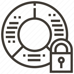 lock, secure, security, system icon
