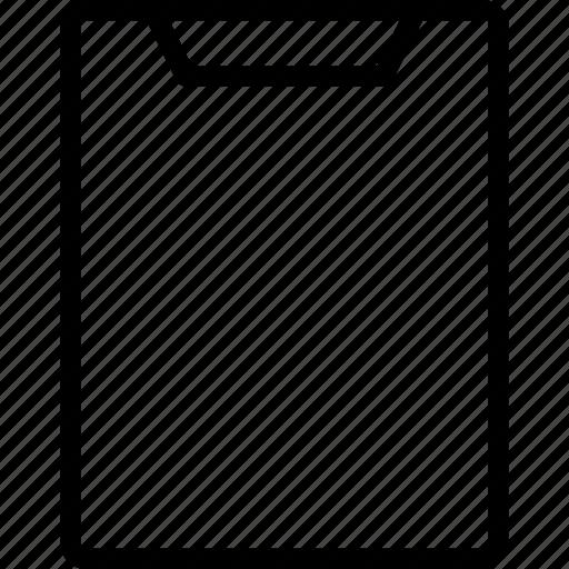 clipboard, data, file, files icon