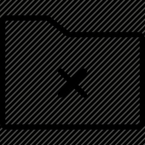 cross, data, document case, files, folder icon