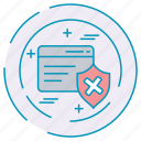 card, credit, cybersecurity, data, protection, sheild icon
