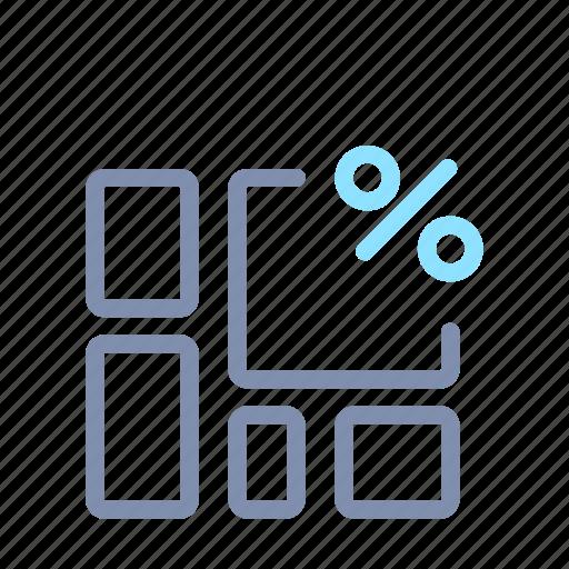 analysis, chart, data, graph, processing, report, statistics icon