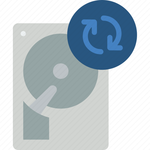 data, recovery, sync icon