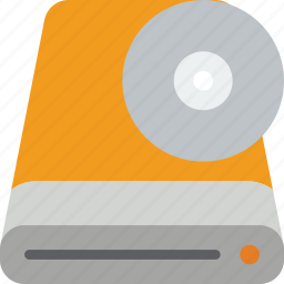 data, disk, external, recovery icon