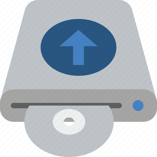 data, disk, recovery, upload icon