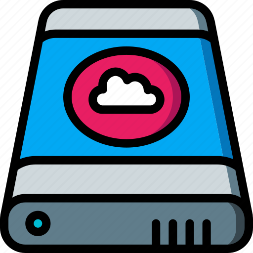 Cloud, data, external, recovery icon - Download on Iconfinder