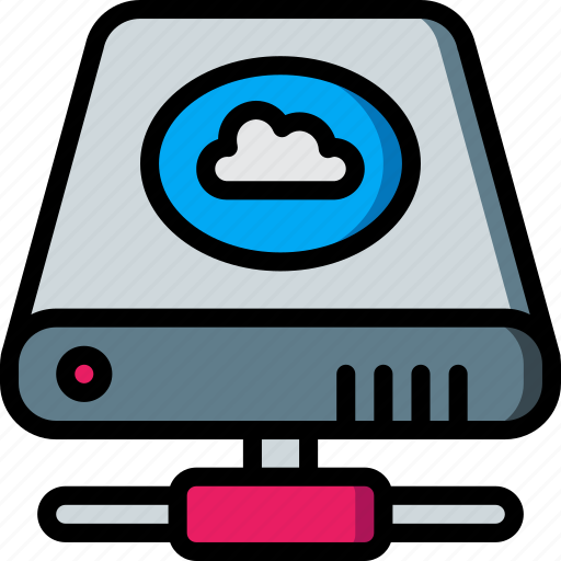 Cloud, data, drive, hard, recovery icon - Download on Iconfinder