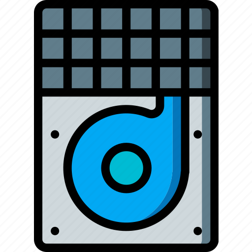 Hard, data, drive, recovery icon