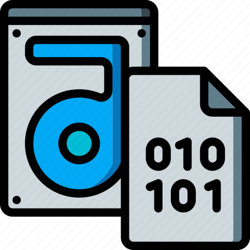Binary, data, file, recovery, store icon - Download on Iconfinder