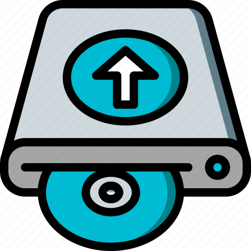Data, disk, recovery, upload icon - Download on Iconfinder