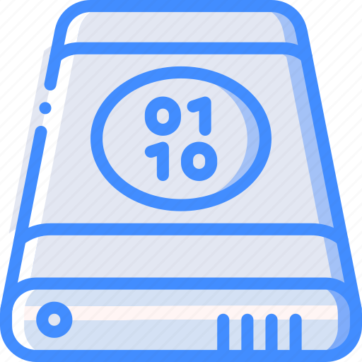 Binary, data, external, recovery icon - Download on Iconfinder
