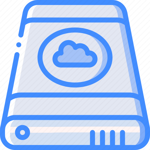 cloud, data, external, recovery icon