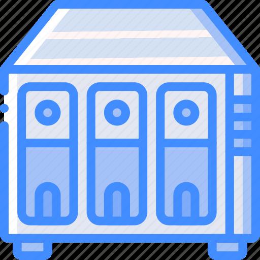 data, drive, raid, recovery icon