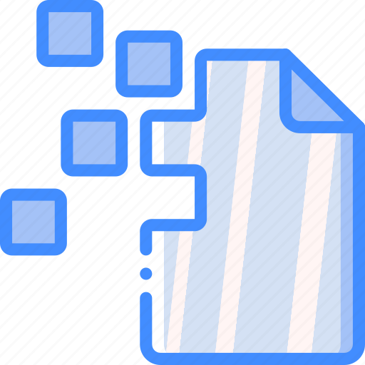 corrupt, data, file, recovery icon