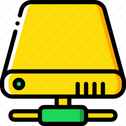 data, drive, hard, network, recovery icon
