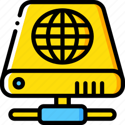 data, drive, hard, internet, recovery icon