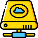 cloud, data, drive, hard, recovery icon